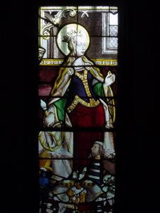 Satined glass bishop Mvc-003f